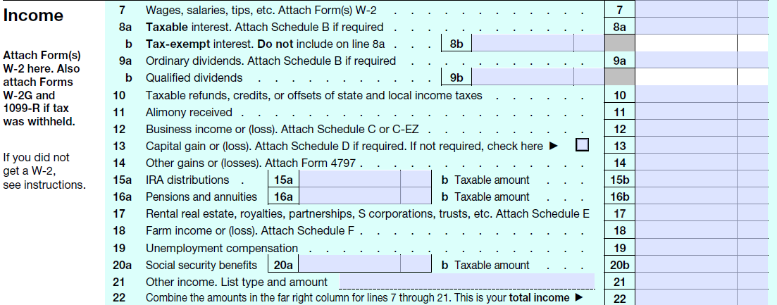 2013 Tax Form 10...2013 Form 1040 Instructions