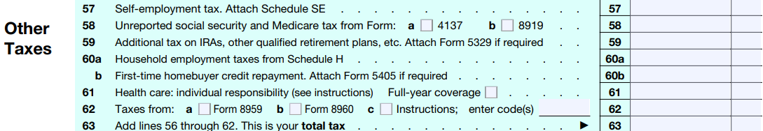 Taxhow 1040 Step By Step Guide