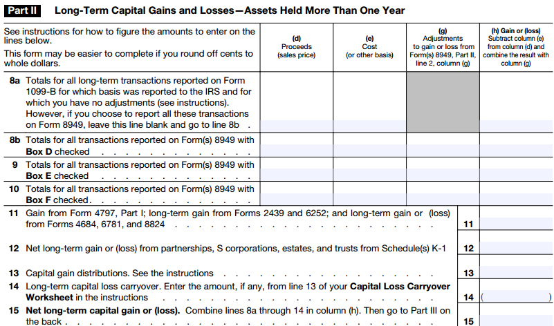 Short Term Capital Loss: Short Term Capital Loss Carryover Worksheet