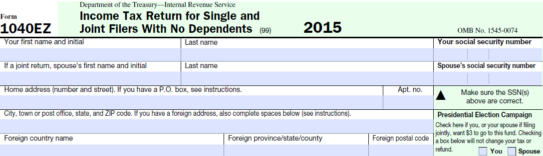 Taxhow Filing 2015 Taxes Online