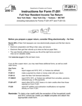 NY Tax Booklet