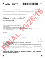 TaxHow » Maryland Tax Forms 2016