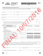 Maryland Form 502INJ