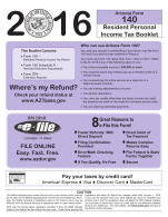 Arizona Tax Booklet