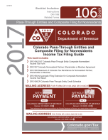 Colorado Form 106