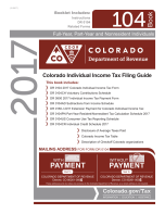 Colorado Tax Booklet