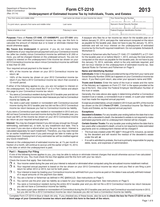 TaxHow » Tax Forms » Connecticut Form CT-2210
