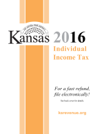 Kansas Tax Booklet