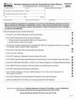 TaxHow » Nebraska Tax Forms 2016