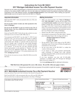 Michigan  Form MI-1040-V