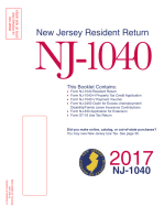 NJ Tax Booklet