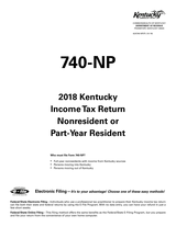 Kentucky Form 740NP Booklet