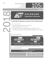 graphic relating to Printable Colorado Income Tax Form 104 called TaxHow » Colorado Tax Sorts 2018