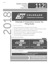 Colorado Form 112