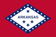 Arkansas State Tax Extension Flag