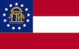 Georgia State Tax Extension Flag