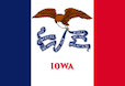 Iowa IA 1040 Schedule A and B Flag