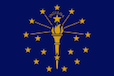 Indiana Form IT-40EZ Flag