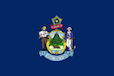Maine Form 1040EXT-ME Flag