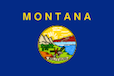 Montana 2 Booklet Flag