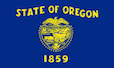 Oregon State Tax Extension Flag