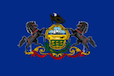 Pennsylvania State Tax Extension Flag