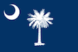 South Carolina State Tax Extension Flag