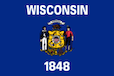 Wisconsin State Tax Extension Flag