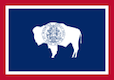 Wyoming Form 14 Flag